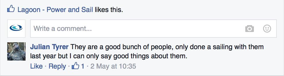 Facebook Marina review 2