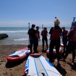 kids watersports activities SUP surfing group