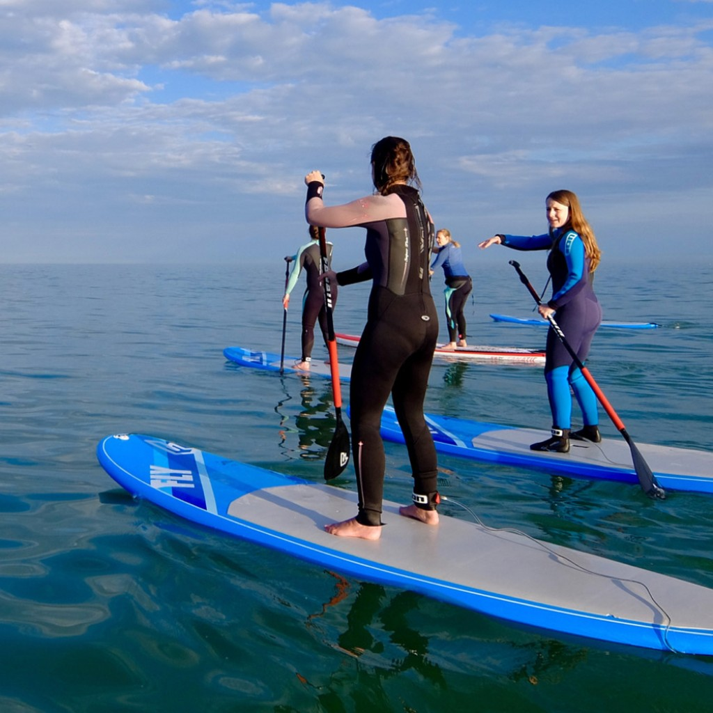 standup paddleboard social paddle