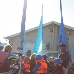 kids watersports activities sailing lesson