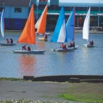 kids watersports activities sailing group
