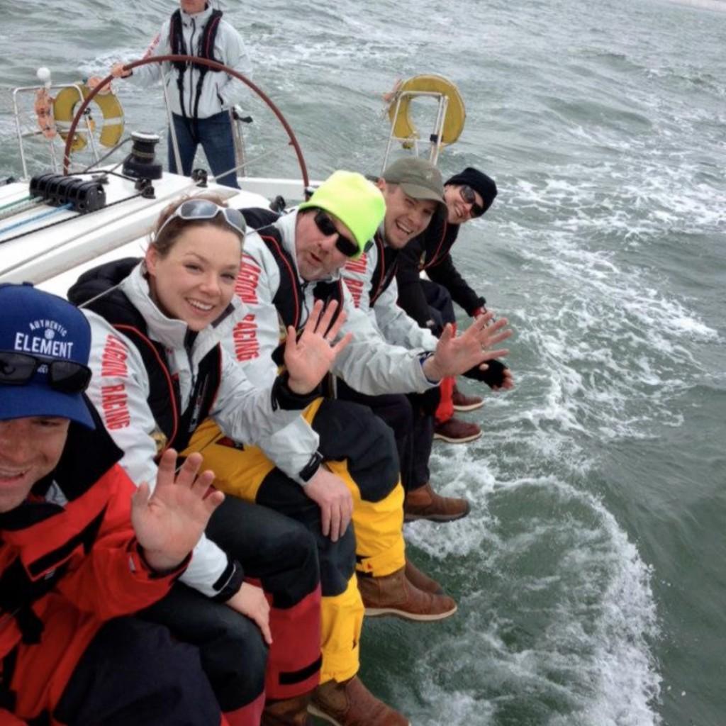Yacht sailing racing fastnet 1