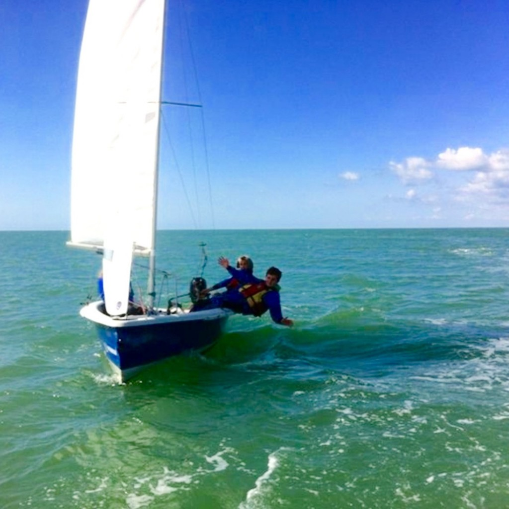 kids sailing brighton level 3