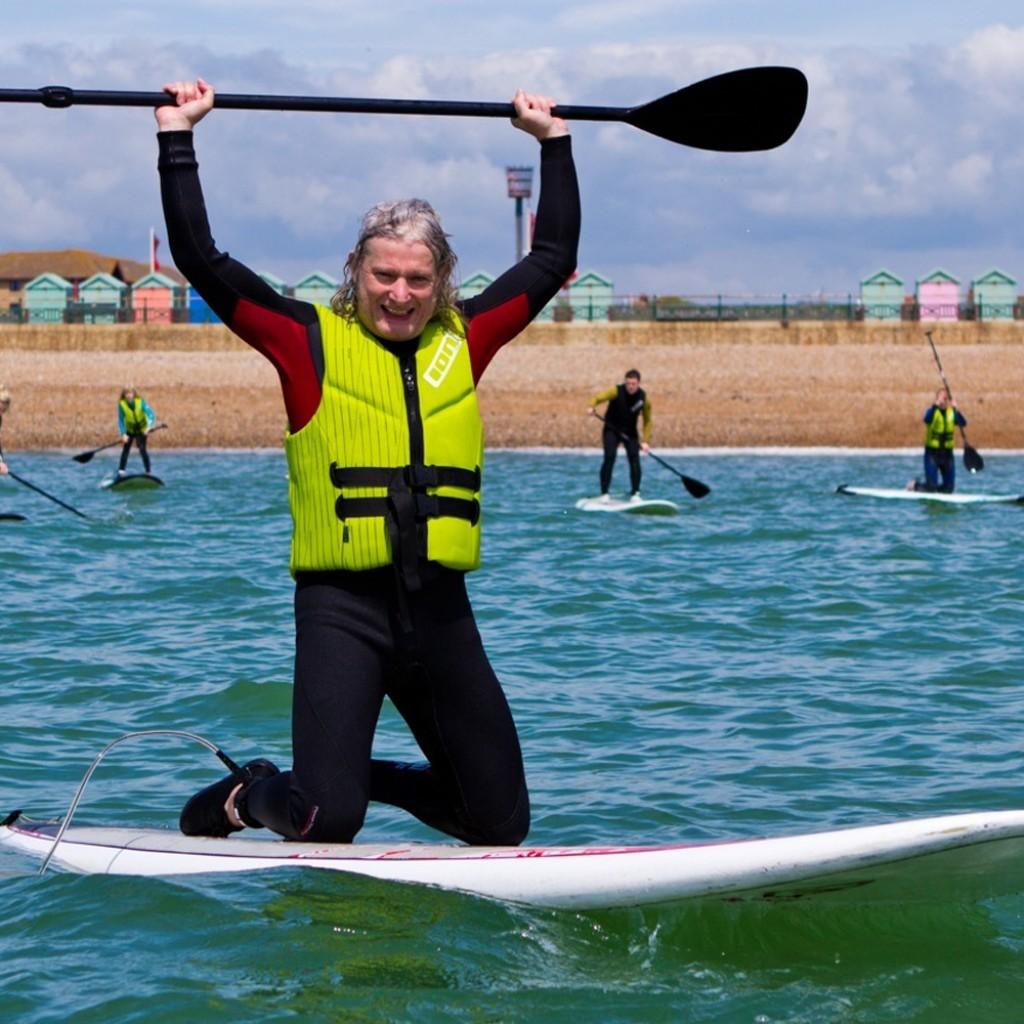 company activity day on the sea