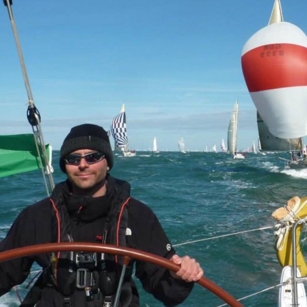 yacht racing  leading sort of