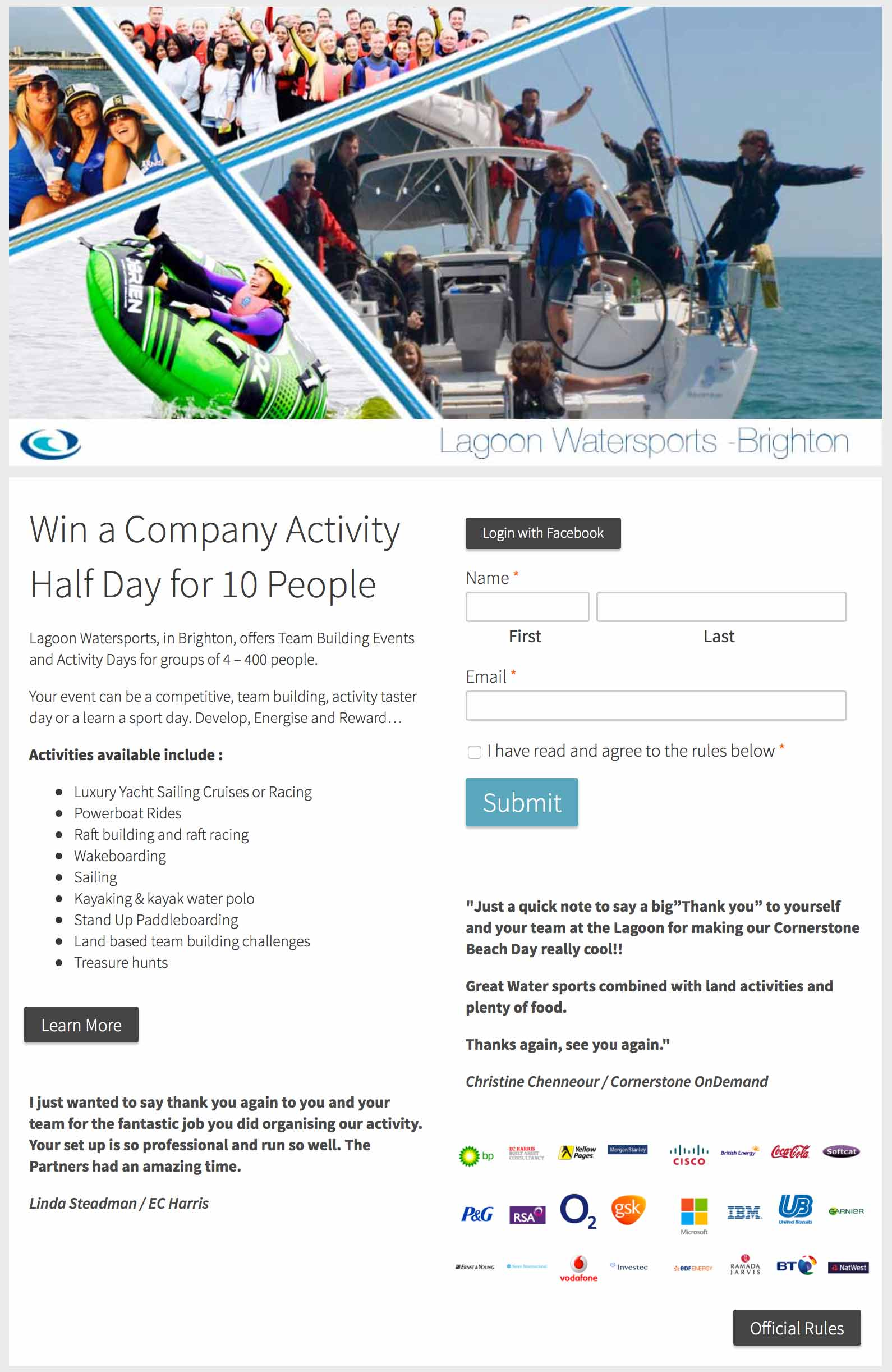 company-activity-day-competition-entry-form