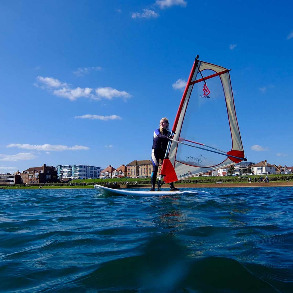 learn to windsurf lesson brighton