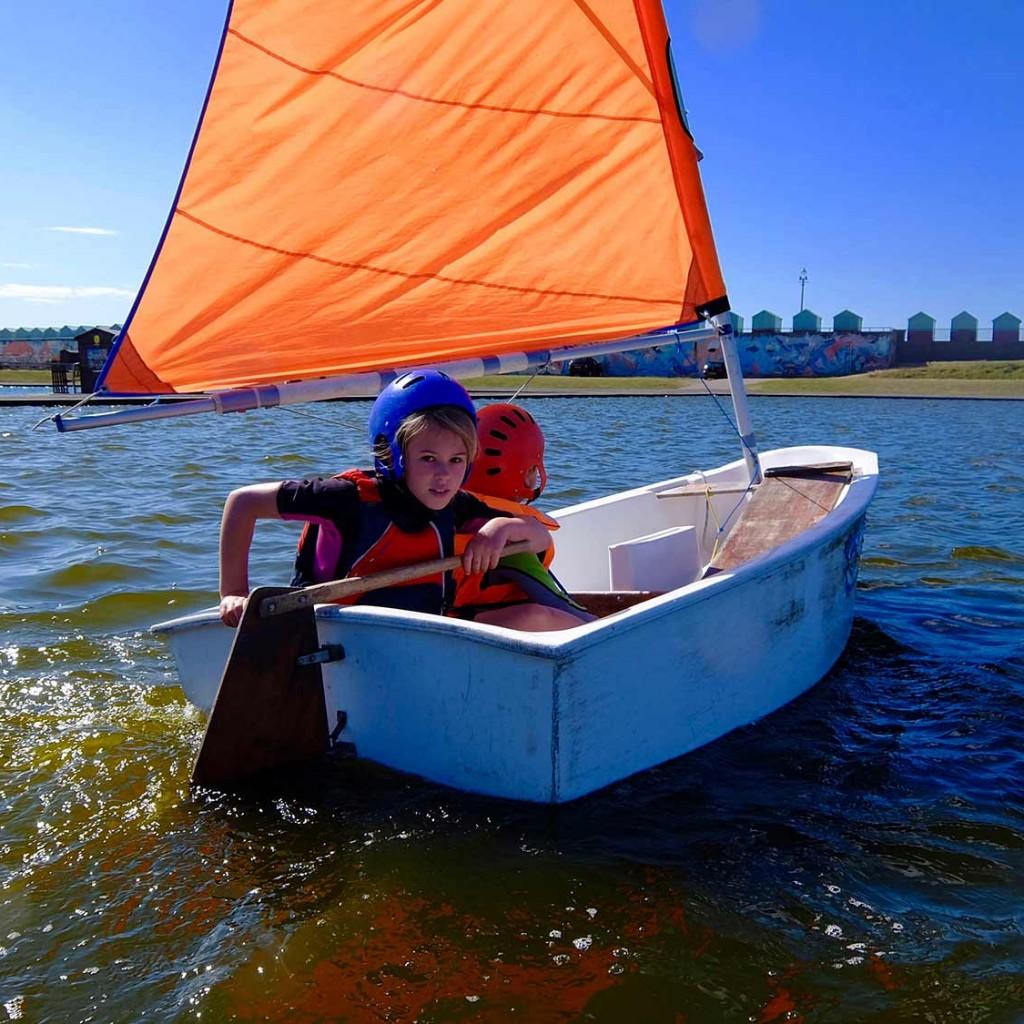 rya sailing class Brighton