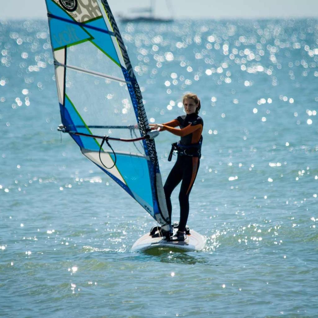 windsurf on the sea perfect day Brighton