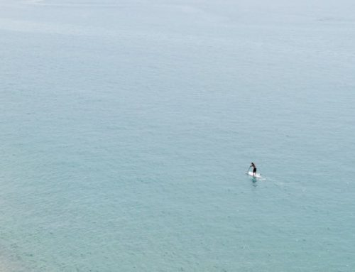 SUPing On The Sea