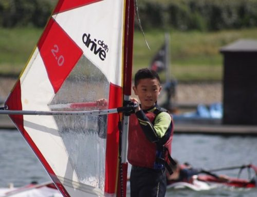 Kids Learn to Windsurf RYA Stage 1