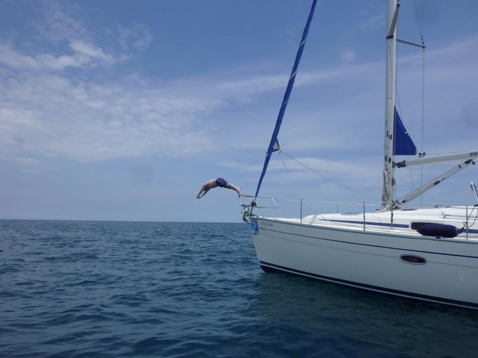 Barcelona yacht fun