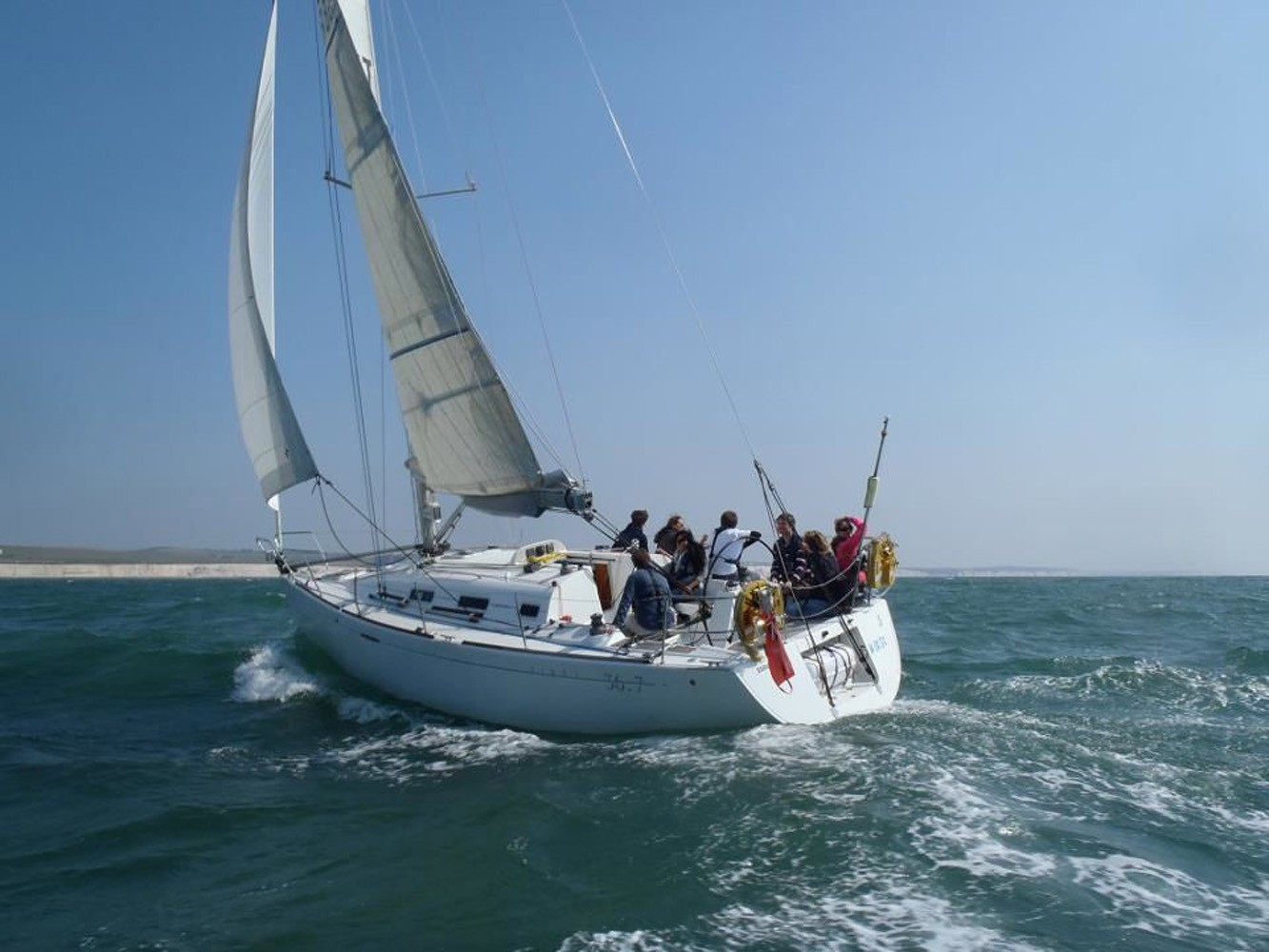 Yacht Sailing'