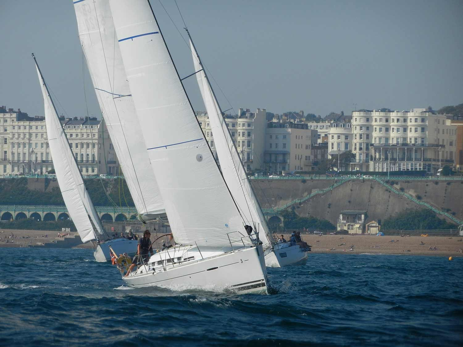 Yacht racing activity Brighton